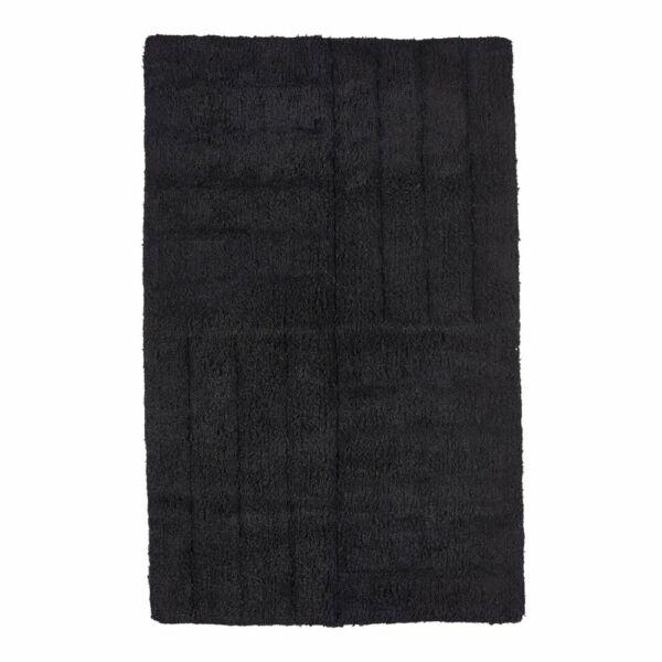 Fürdőszobai szőnyeg, fekete