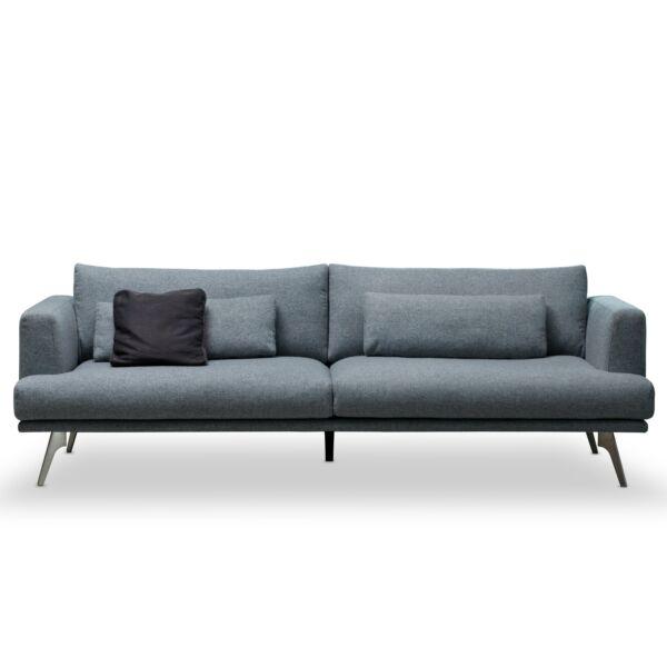 Bari 3 üléses kanapé, antracit szövet