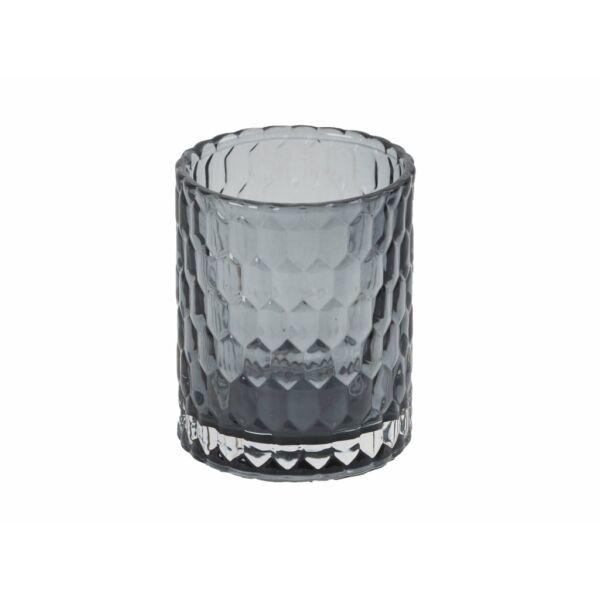 Gine üvegpohár, Szürke üveg