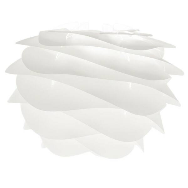 Carmina lámpabúra, fehér