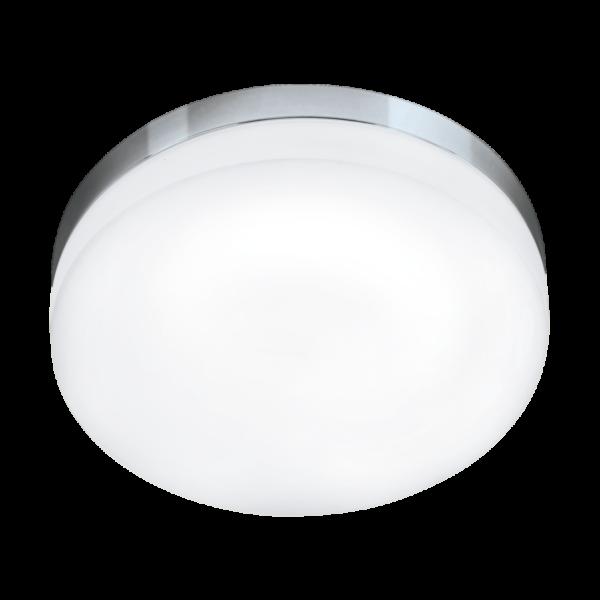 Lora LED mennyezeti lámpa, acél/króm/Opál/üveg