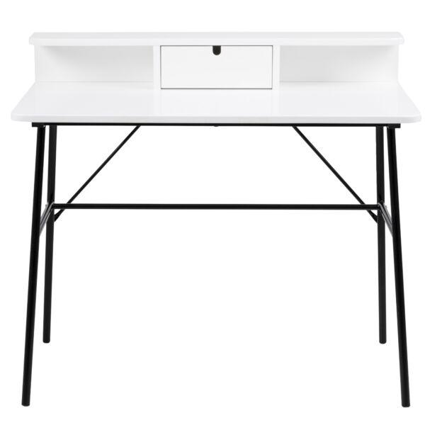 Pascal íróasztal fehér, matt fehér
