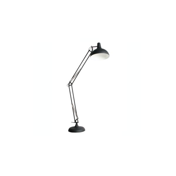 Office állólámpa, fekete