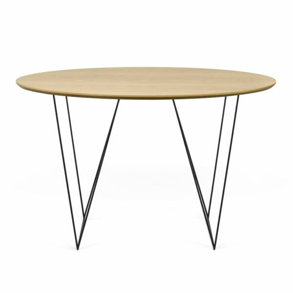 Row étkezőasztal, tölgy, 120 cm