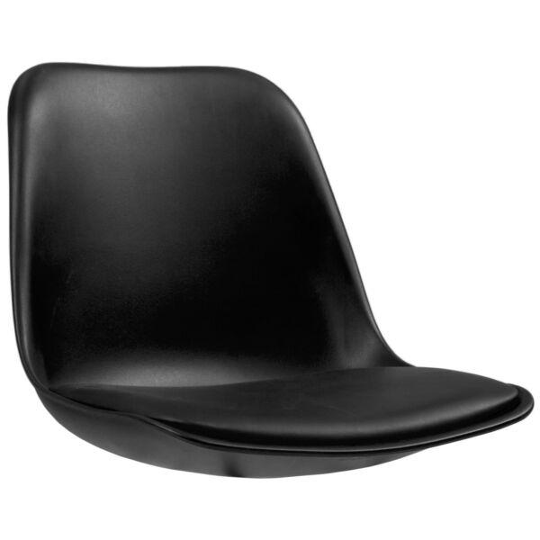 Grace ülőlap, fekete műanyag