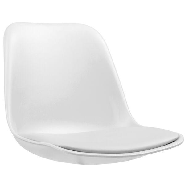 Grace ülőlap, fehér műanyag