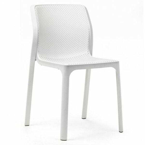 Bit kerti szék, fehér