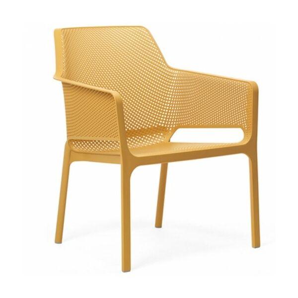 NET Relax kerti szék, sárga