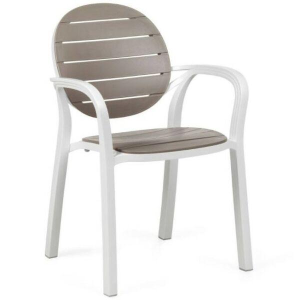 PALMA kerti szék, fehér