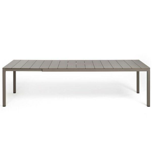 RIO bővíthető kerti asztal, galambszürke 210 cm