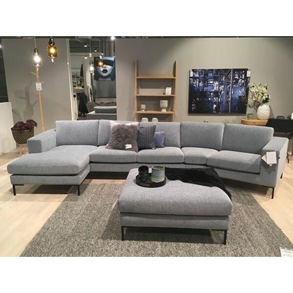 Domino kanapé összeállítás, világoskék szövet