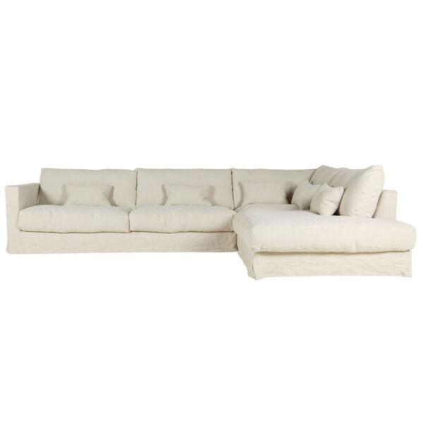 Heaven kanapé, natúr szövet