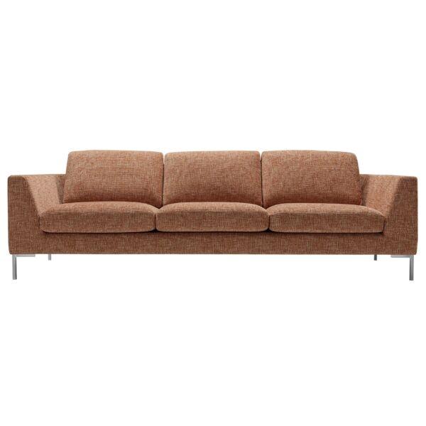 Ohio XL, 3 személyes kanapé, narancssárga szövet