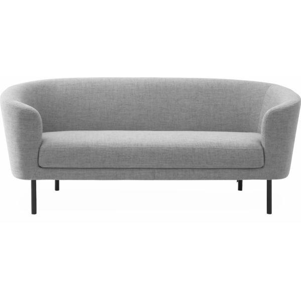 Cosy 3 személyes kanapé, világosszürke szövet