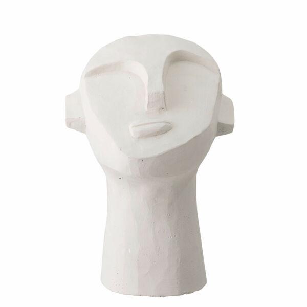 Face szobor, fehér