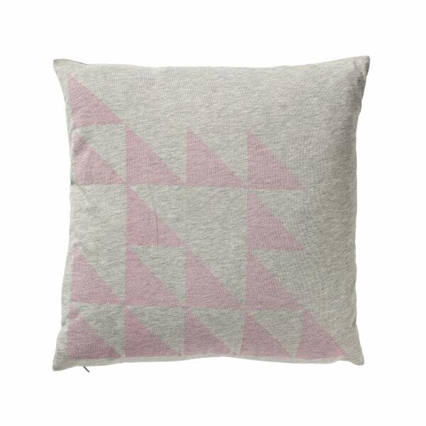 Pattern párna, szürke/rózsaszín