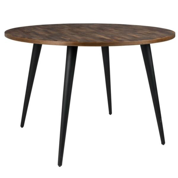 Étkezőasztal MO D110cm, teak fa