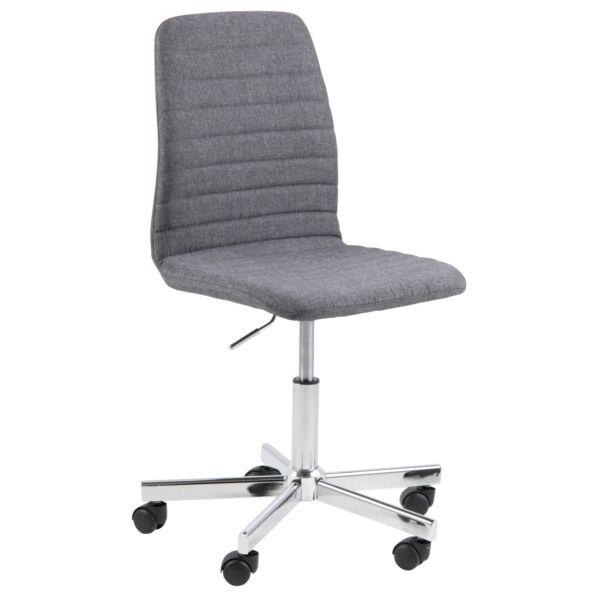 Amanda irodai design szék, szürke
