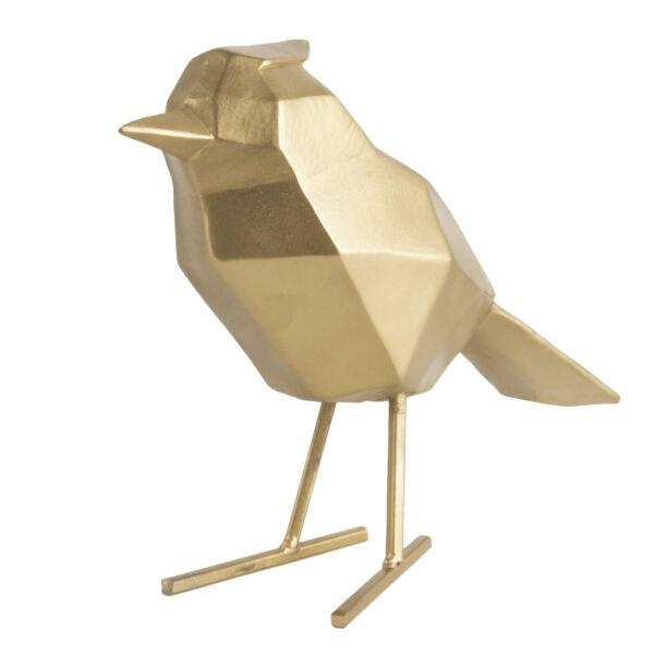 Bird szobor, arany