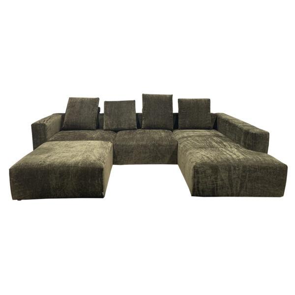 Liam kanapé összeállítás, khaki