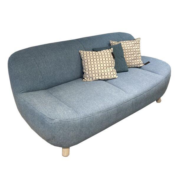 Aino kanapé, kék szövet