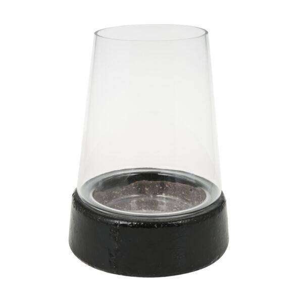 Creek Island lámpás, fekete, H22 cm