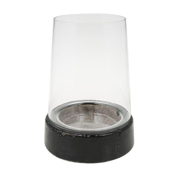 Creek Island lámpás, H29 cm, fekete