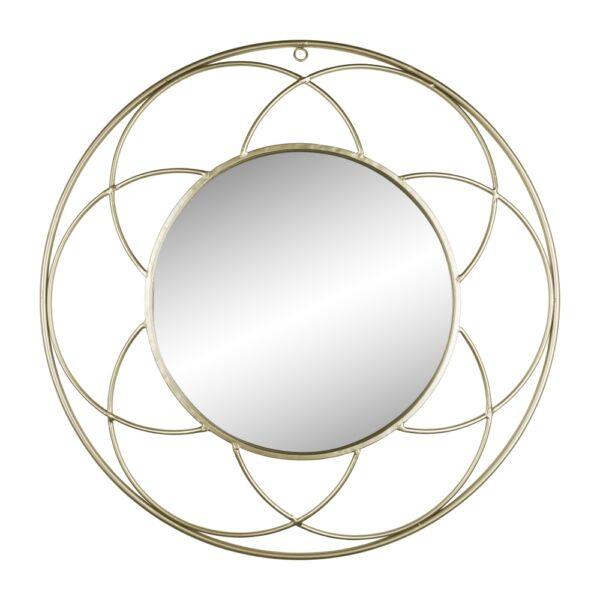 Lily tükör, arany kerettel