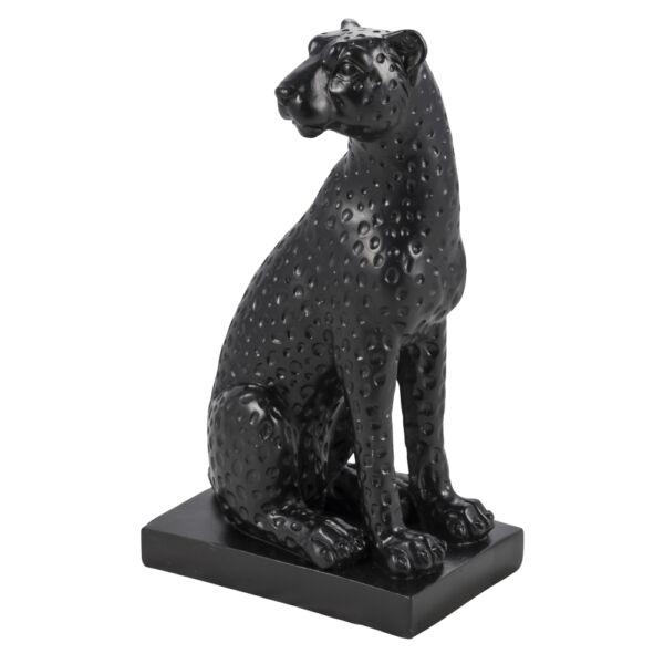 Salister szobor, fekete