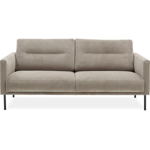 Larvik 2,5 személyes kanapé, homok kordbársony
