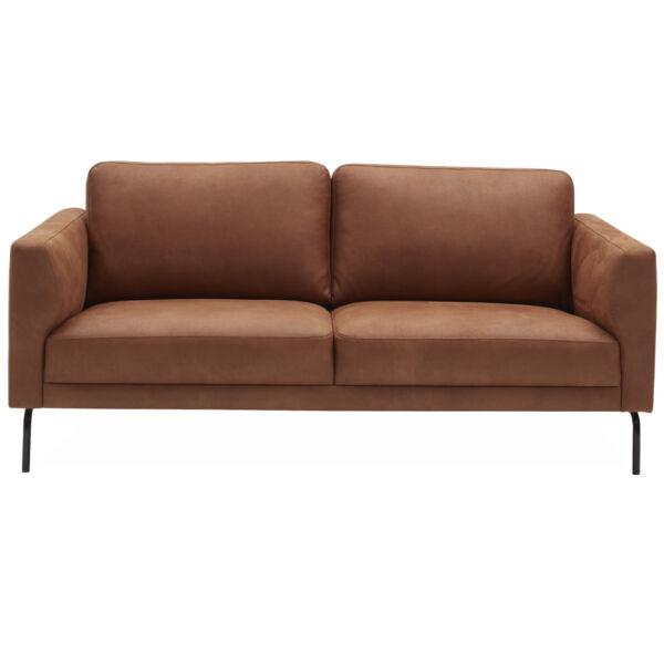 Springfield 2,5 személyes kanapé, konyak bonded bőr