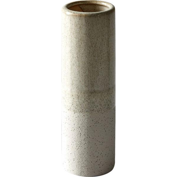 Osana váza, törtfehér, 18 cm