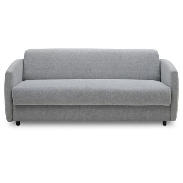 Rida ágyazható kanapé, szürke szövet
