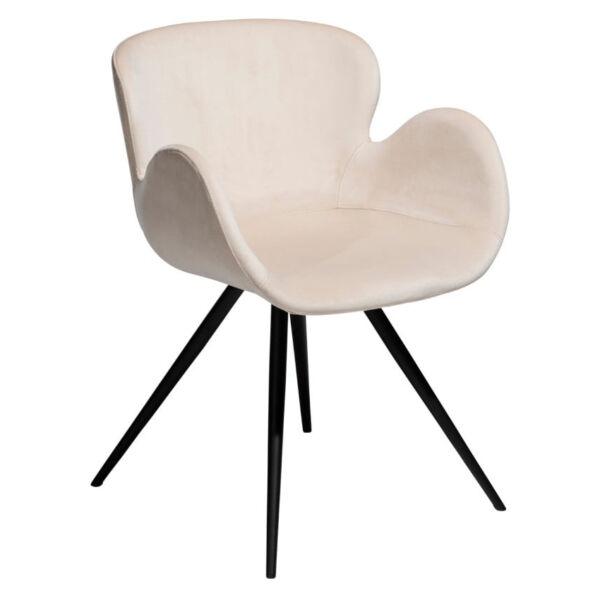 Gaia szék, pearl bársony