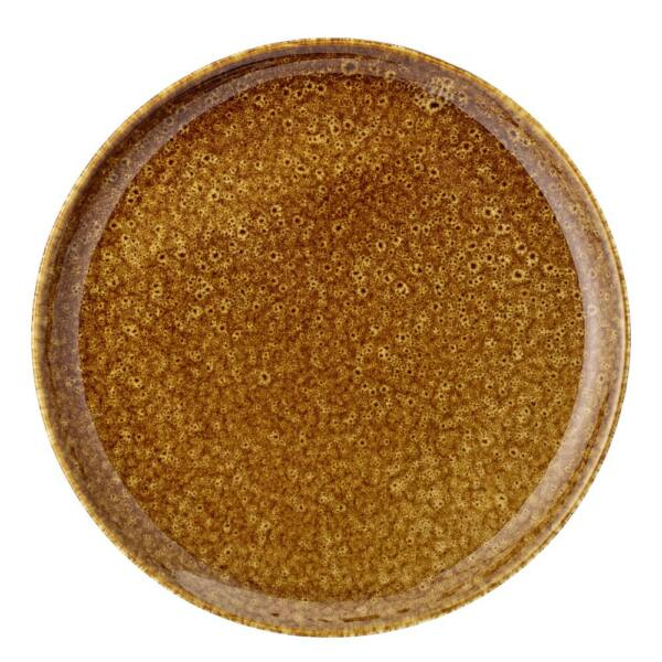 Thea tányér, barna