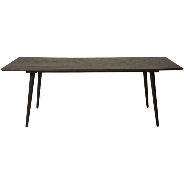 Bone étkezőasztal, szilfa furnér asztallap