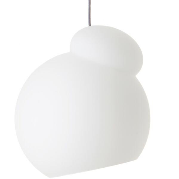 Air függőlámpa, D34 cm, fehér opál