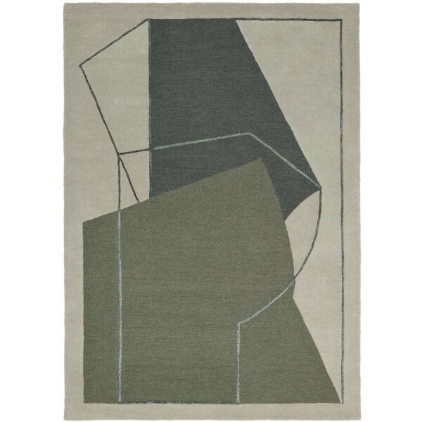 Furbo szőnyeg, zöld, 140x200 cm
