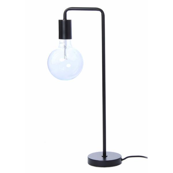 Cool asztali lámpa, matt fekete