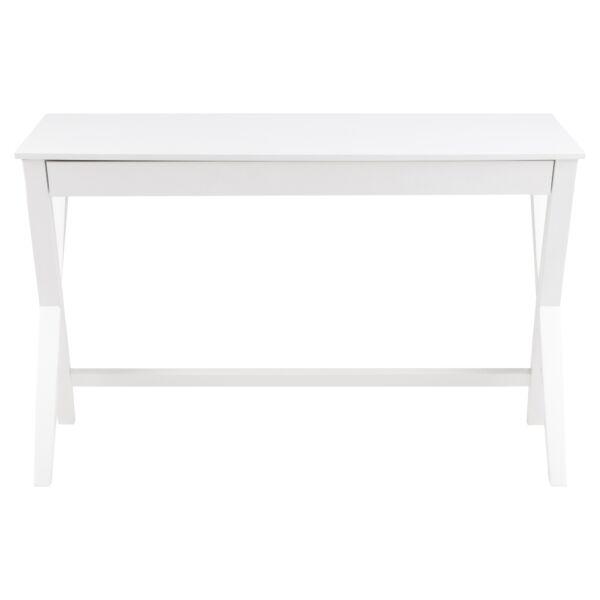 Writex íróasztal fehér, matt fehér