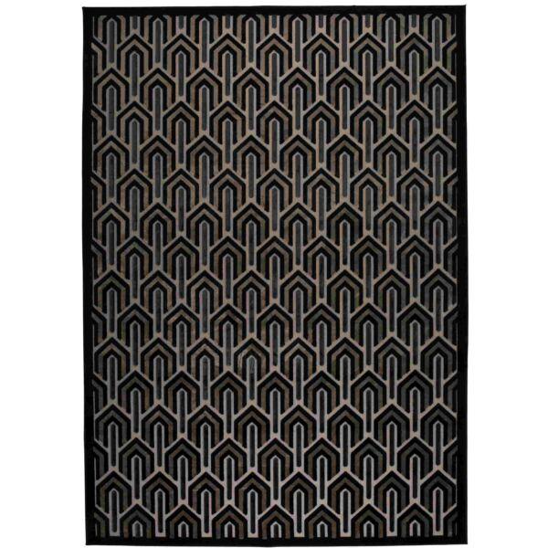 Beverly szőnyeg, fekete, 170x240 cm