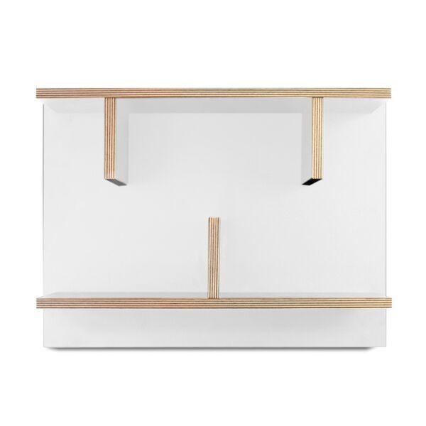 Bern polc, 60 cm fehér