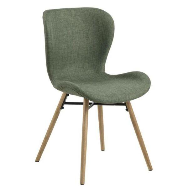Batilda szék, zöld szövet