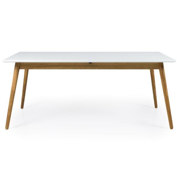 Dot butterfly bővíthető asztal, fehér/tölgy