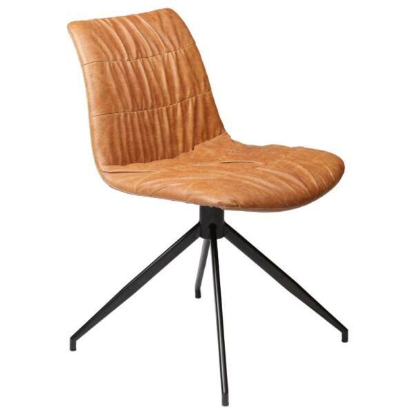 Dazz szék, barna textilbőr, KIFUTÓ!