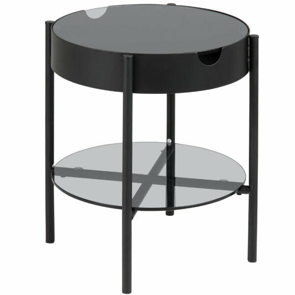 Tipton lámpaasztal, üveg