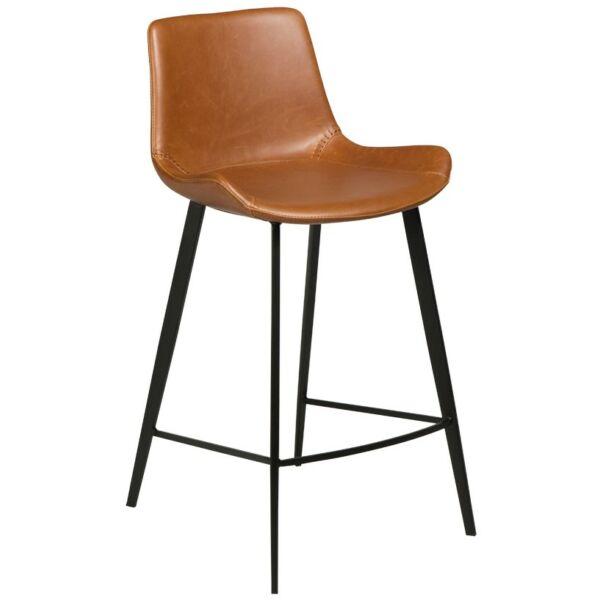 Hype design counter bárszék, barna bőr