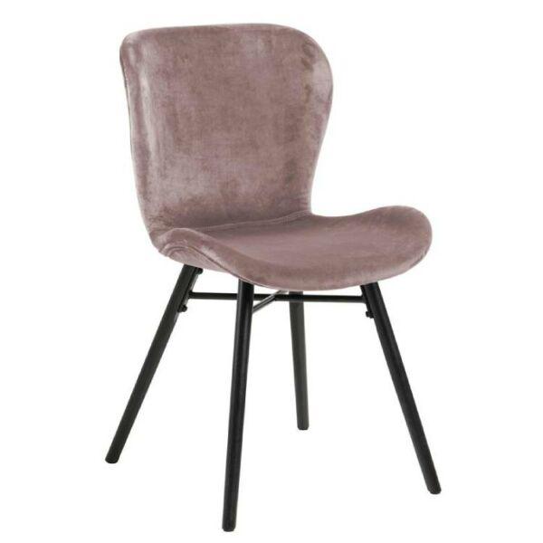 Batilda szék, rózsaszín bársony