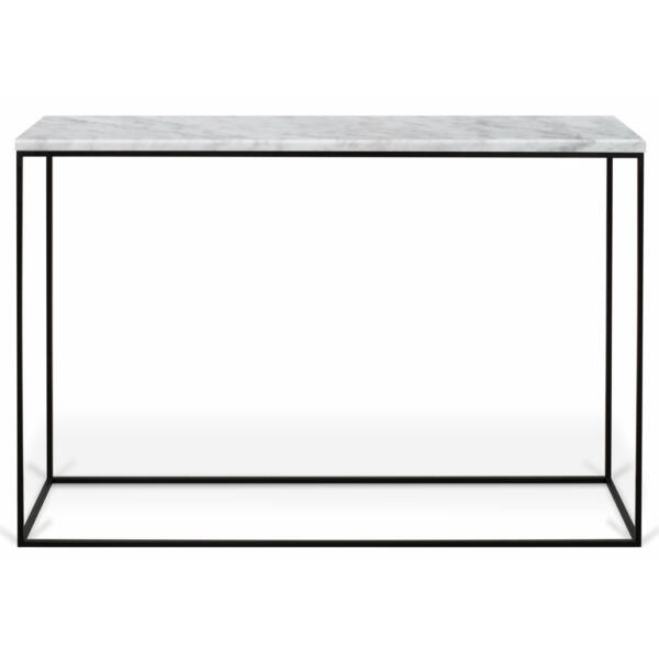 Gleam konzolasztal, fehér márvány