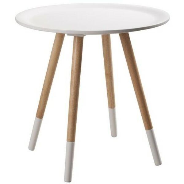 Two Tone lámpaasztal, fehér